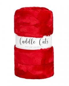 Two Yard Cut Cuddle - Cardinal/Red