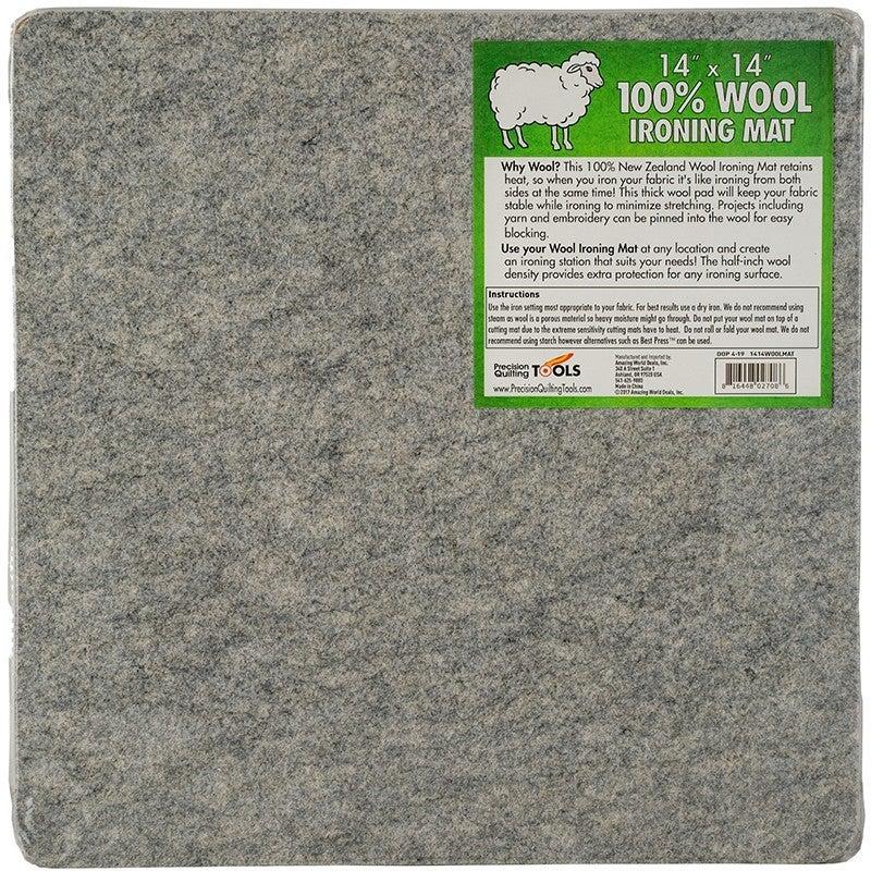 "Wool Pressing Mat 13.5"" Square"