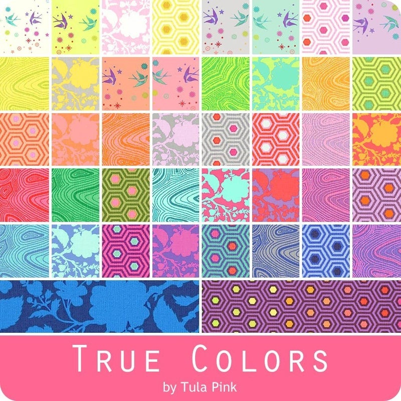 Tula Pink True Colors Charm pack