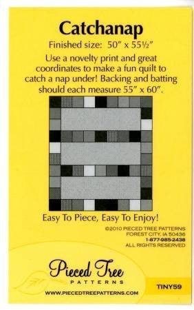 """Pattern:  Catchanap (50"""" x 55.5"""")"""