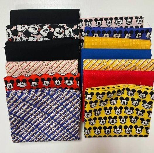 """Kit:  Snappy Mickey (Need Pattern)  60"""" x 66"""""""