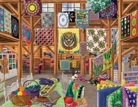 Puzzle:  Quilted With Love