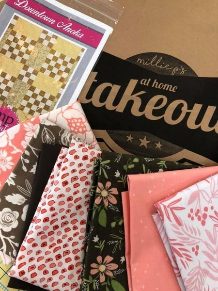 At Home Takeout April (Includes (7) 1/2 yard and pattern)