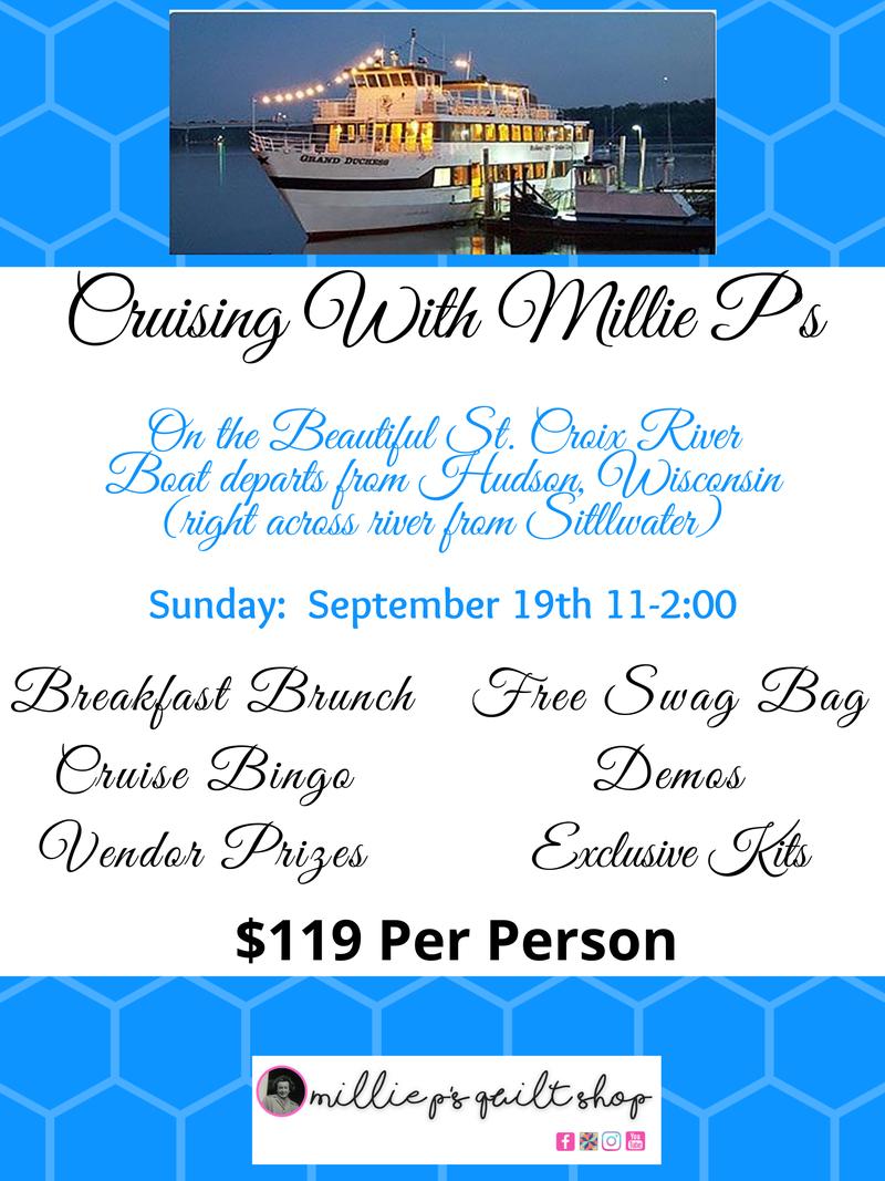 Cruising with Millie P's Three-Hour Cruise