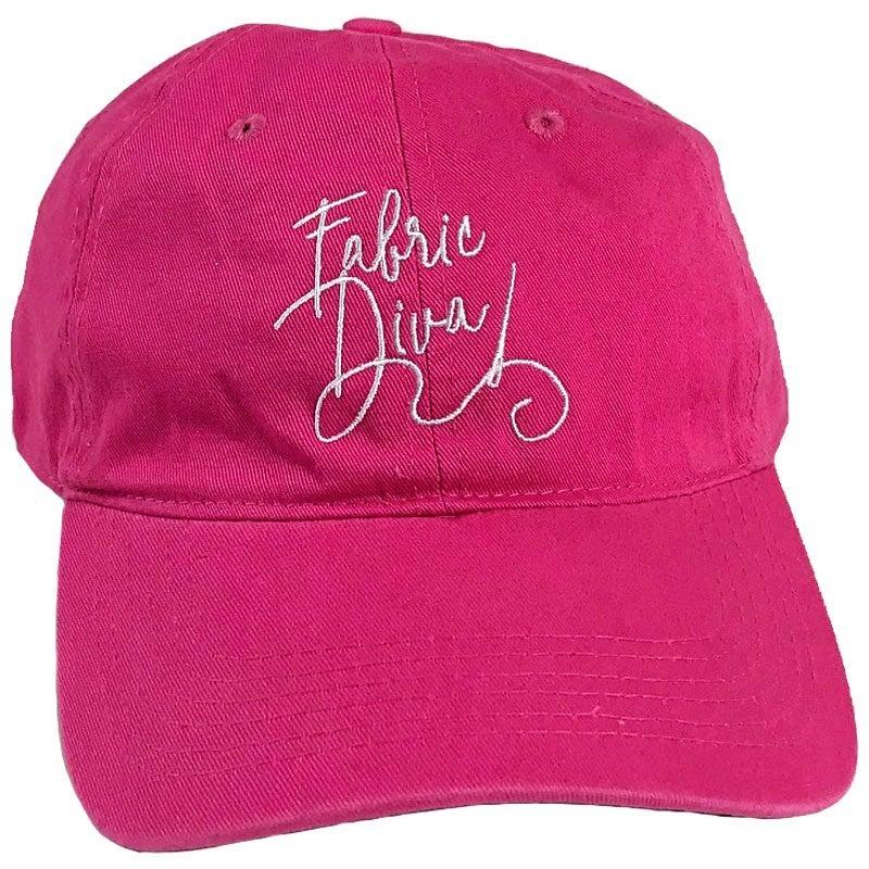 Cap:  Pink Fabric Diva