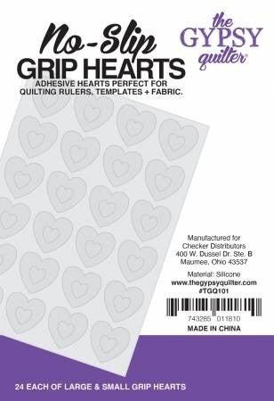 Gypsy Stuck On You Heart Grip Dots (24 lg. & 24 sm)