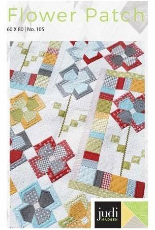 Pattern:  FLower Patch *Final Sale*