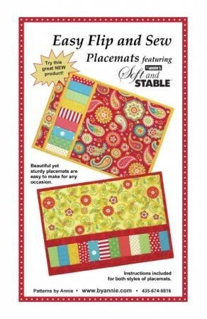 Pattern:  Easy Flip & Sew Placemats