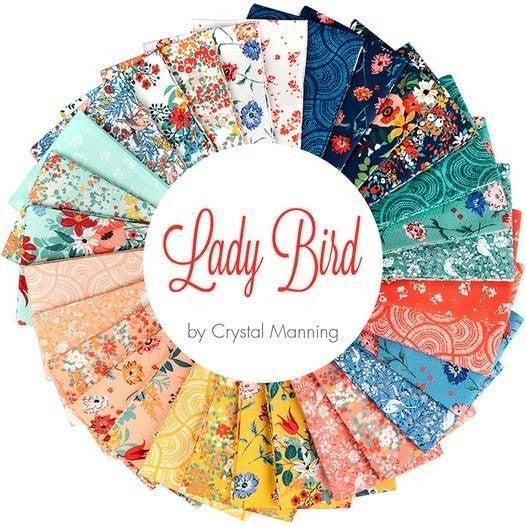 Moda Lady Bird 1/2 Yard Cuts (30)