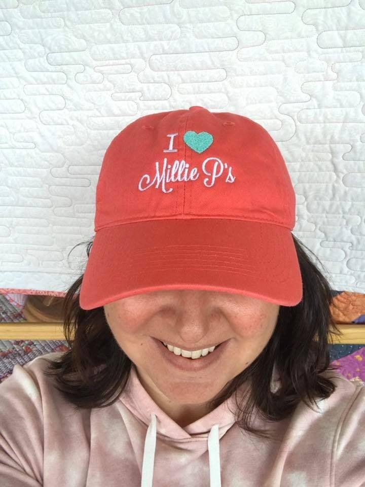 Cap:  I Love Millie P's