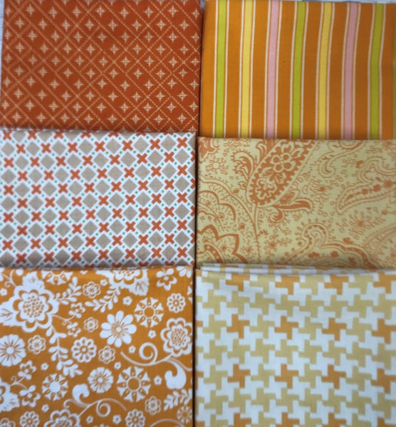 Fat Quarter Bundle (6) Butterscotch
