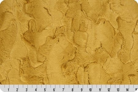 Luxe Cuddle Golden - Two Yard Cut