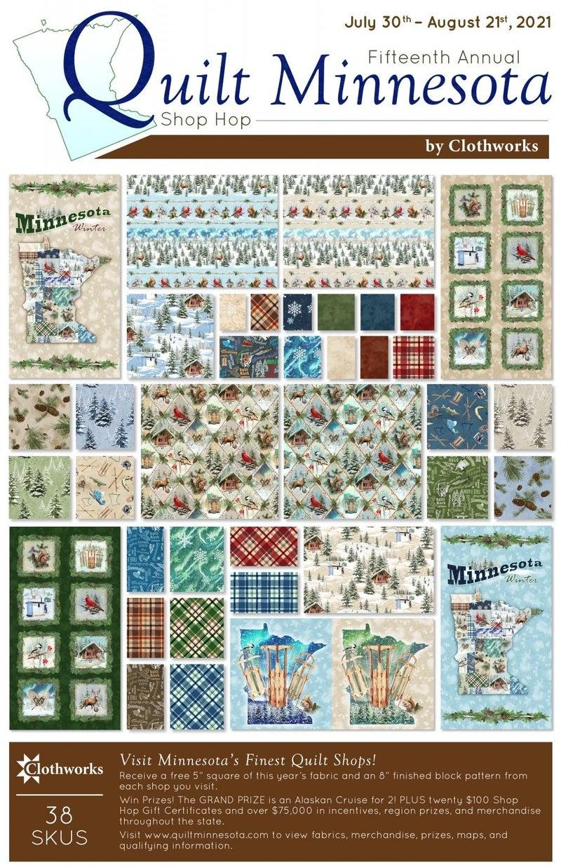 """QMN 2021 5"""" Squares (28 pieces)"""
