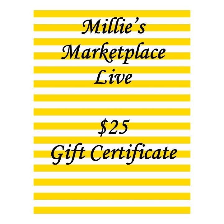 $25 Gift Certificate MML