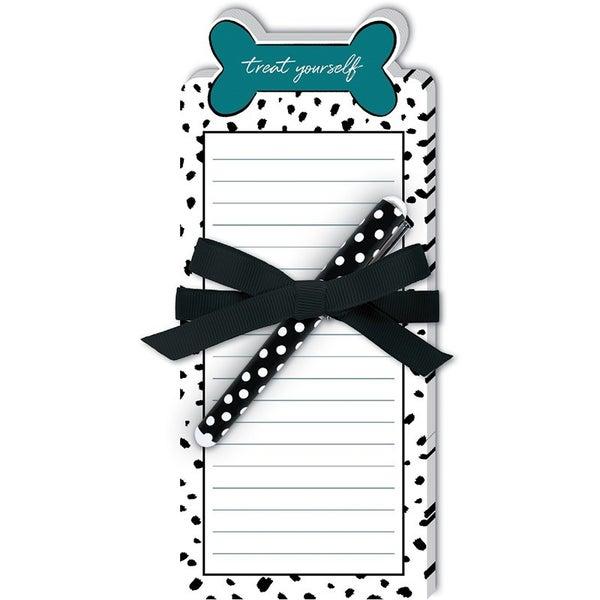 Notepad w/Pen Dog Themed