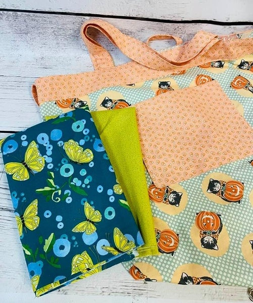 Kit: Simple Sack Butterflies 2 (Need Pattern)