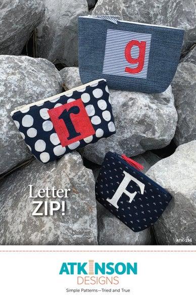 Letter Zip Pattern