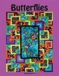 """Pattern:  Butterflies Panel Friendly 60"""" x 78"""" (panel 24"""") *Final Sale*"""
