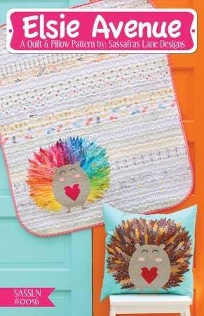 Pattern Elsie Avenue Applique Quilt or Pillor *Final Sale*