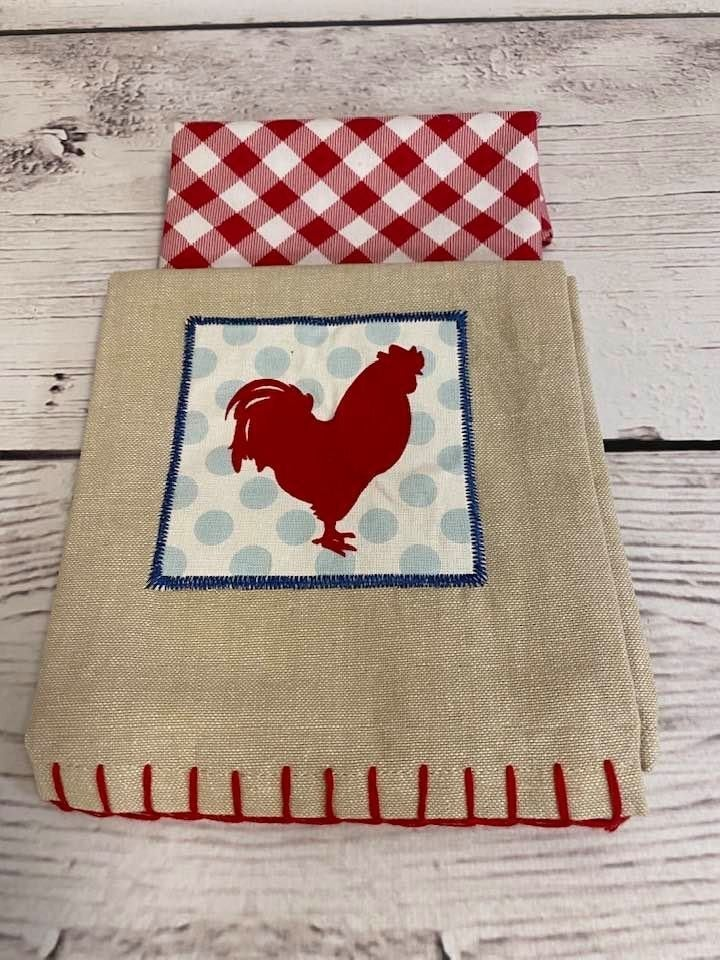 Kit:  Rooster Towel Cowl