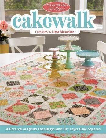 Book:  Moda All Stars Cake Walk