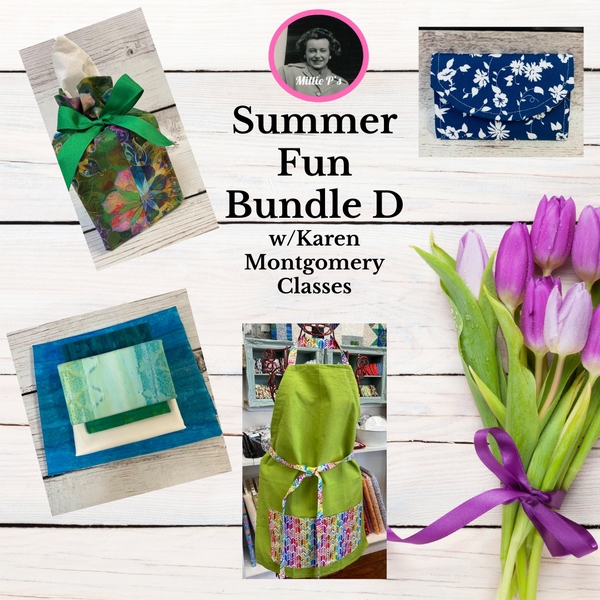 Summer Fun Bundle D w/Karen Montgomery