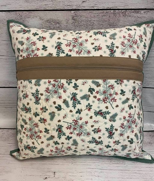 "Kit: Zippity Do Done Flannel Pillow 20"""