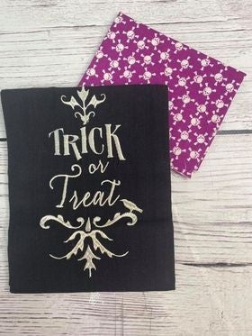 Kit: Trick or Treat Towel Cowl (inc. pattern)