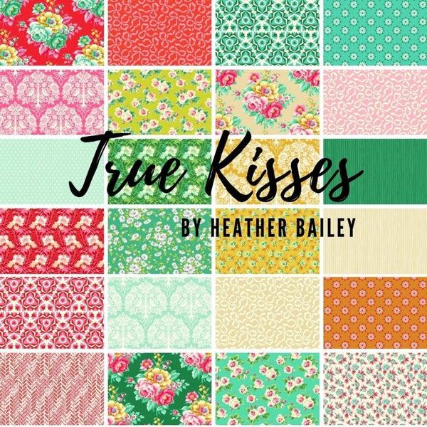 Fat Quarter Bundle:  True Kisses by Heather Bailey (28 FQs)