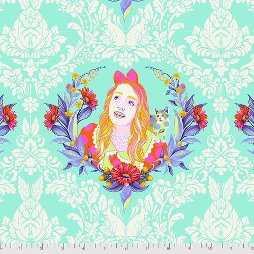 "Tula Curiouser 42"" One Yard Alice Daydream"