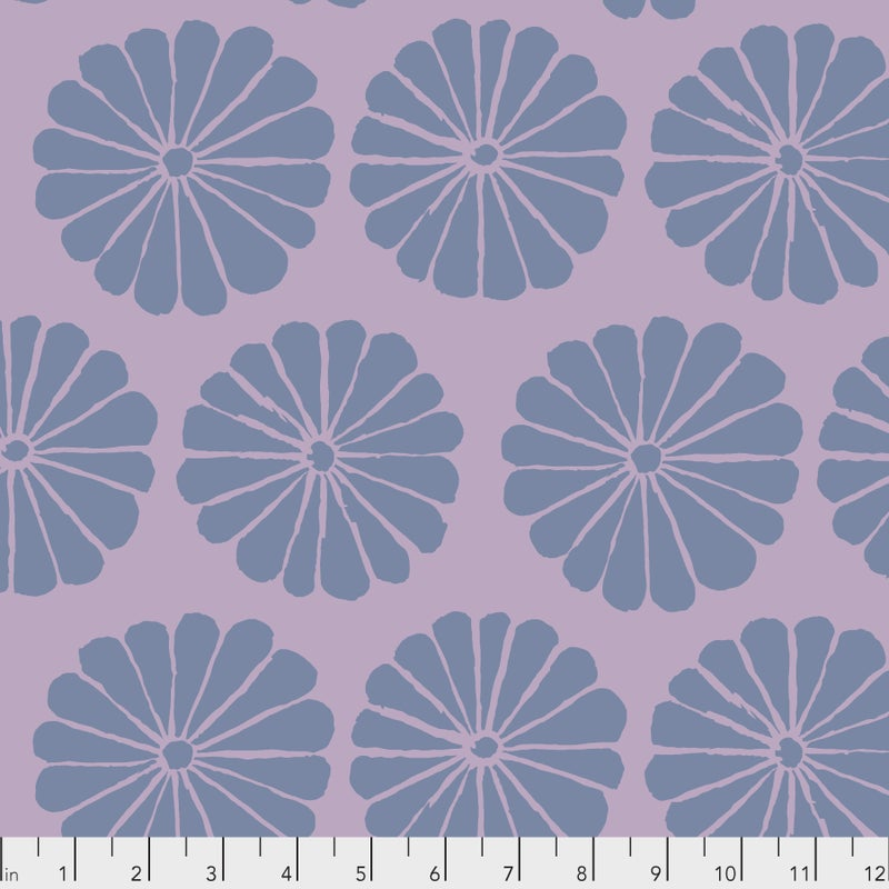 Kaffe -  Damask Flower - Lilac - One Yard Cut