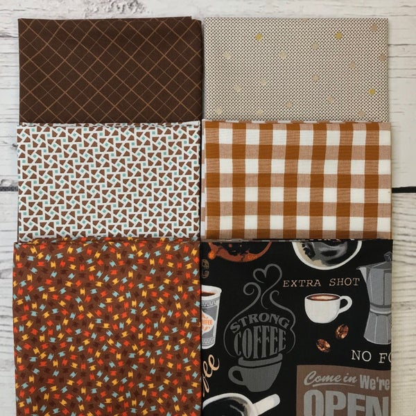 FQ Bundle (6) Caffeinated Browns