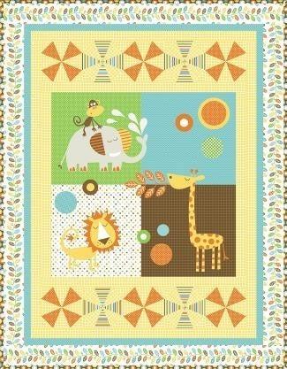 Pattern : Animal Crackers *Final Sale*
