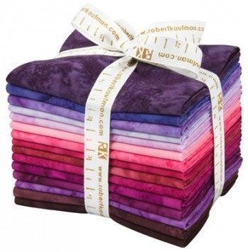 Fat Quarter Bundle:  15 Fats Prisma Dye Batiks