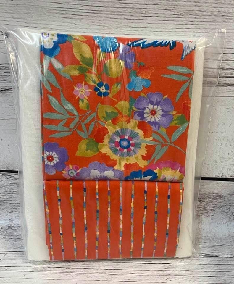 Kit:  One Hour Basket Orange Flower
