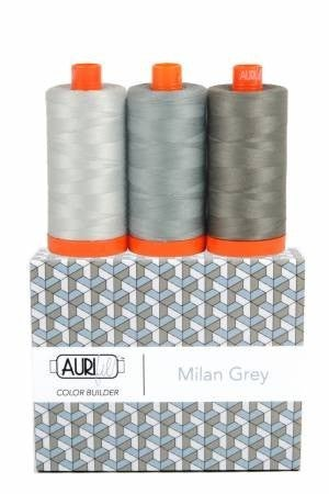 Aurifil Color Builder Milan Grey