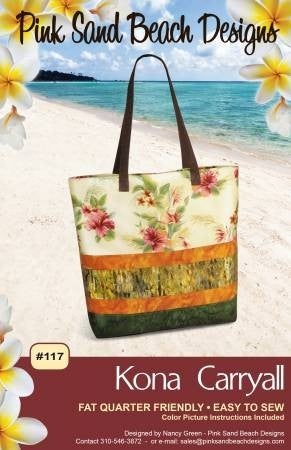 Pattern:  Kona Carryall (Fat Quarter Friendly)