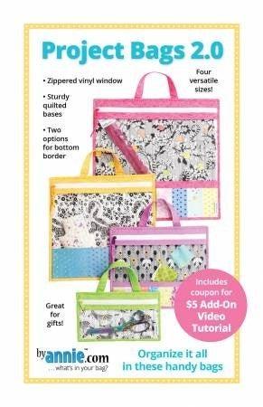 Pattern:  Project Bag 2.0 *Final Sale*