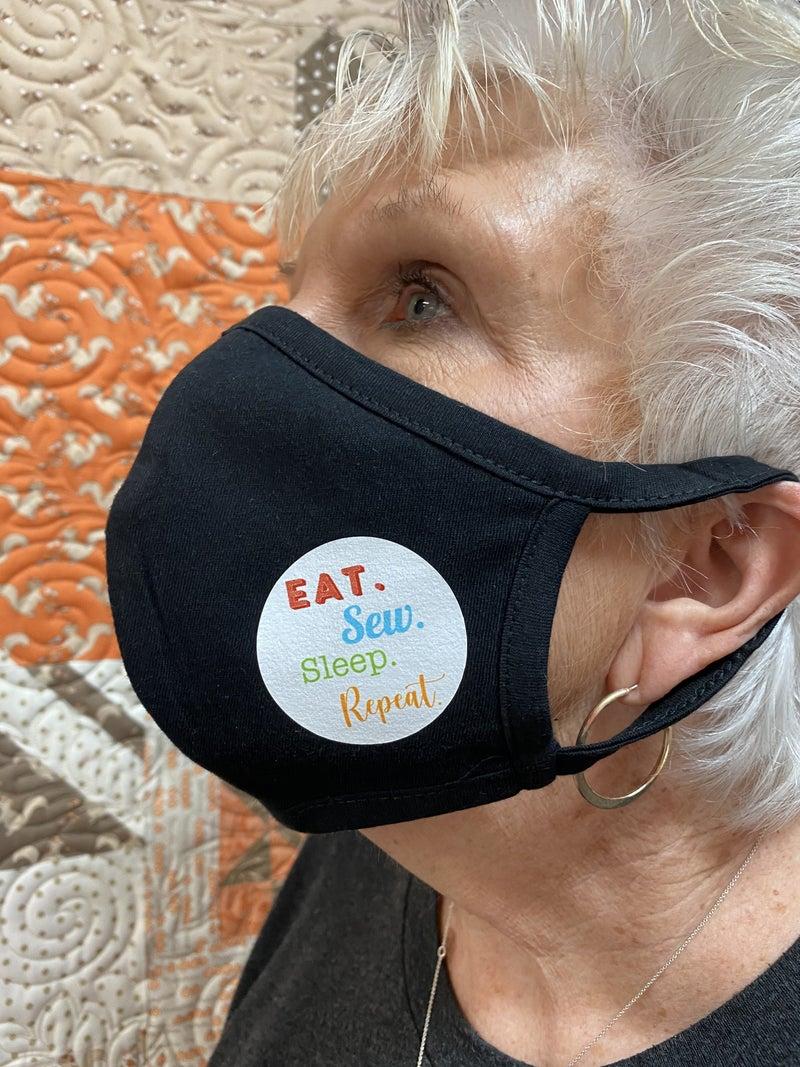 Mask Eat Sleep Sew Repeat