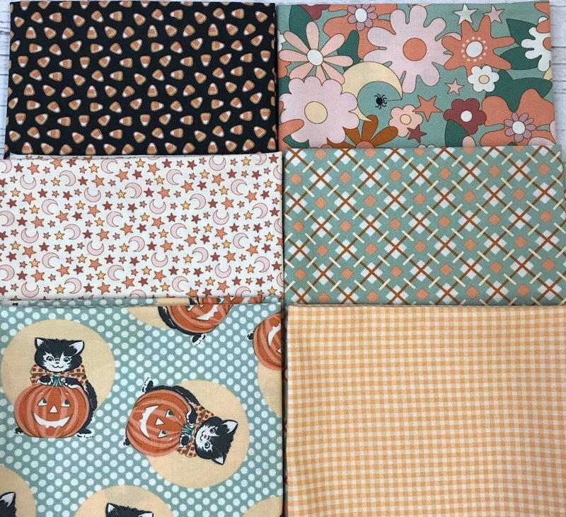 FQ Bundle (6) Cats in Pumpkins