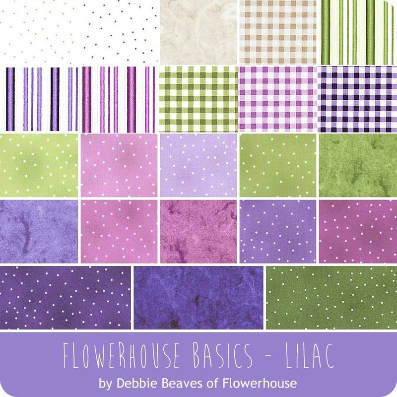 Fat Quarter Bundle (23) Flowerhouse Basics