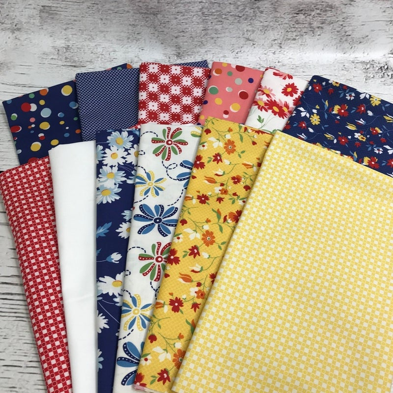 FQ Bundle (12) Story Time Blue and Red
