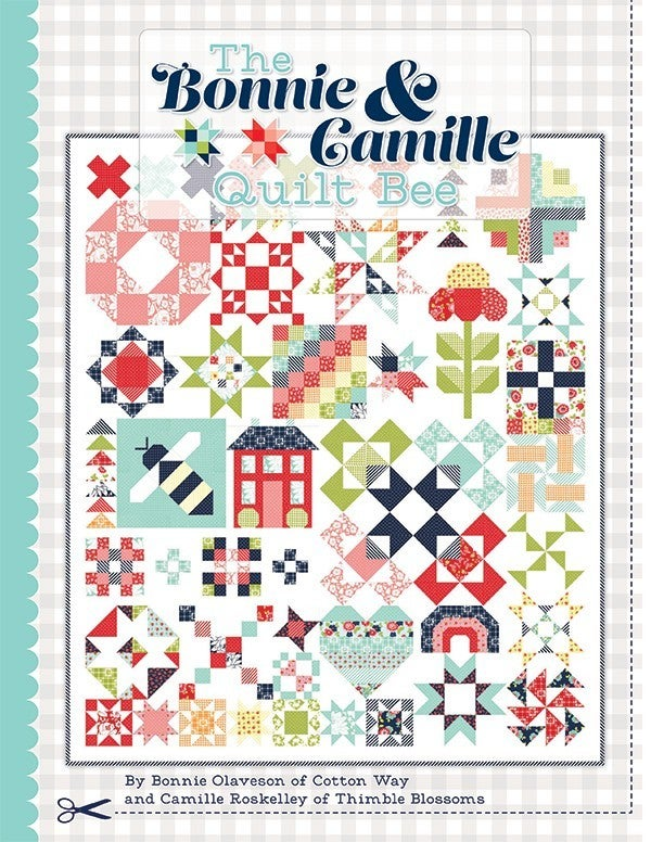 """Kit:  Bonnie & Camille Quilt Bee (NEED BOOK)  68.5"""" x 80.5"""""""