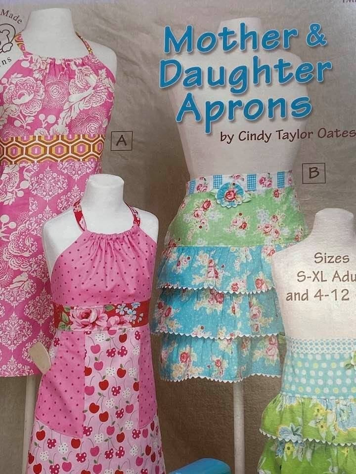 Book Mother Daughter Apron