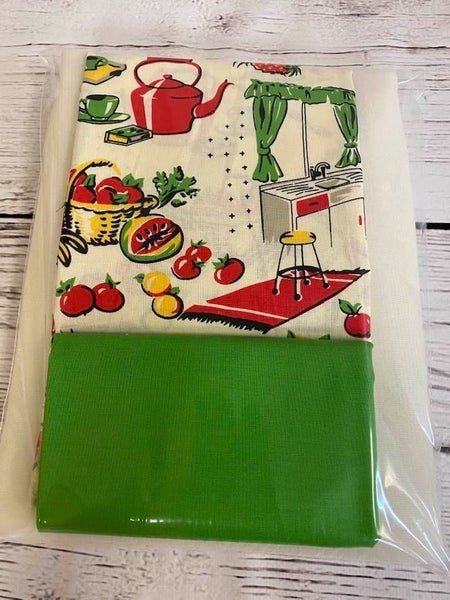Kit:  One Hour Vintage Kitchen Green Lining