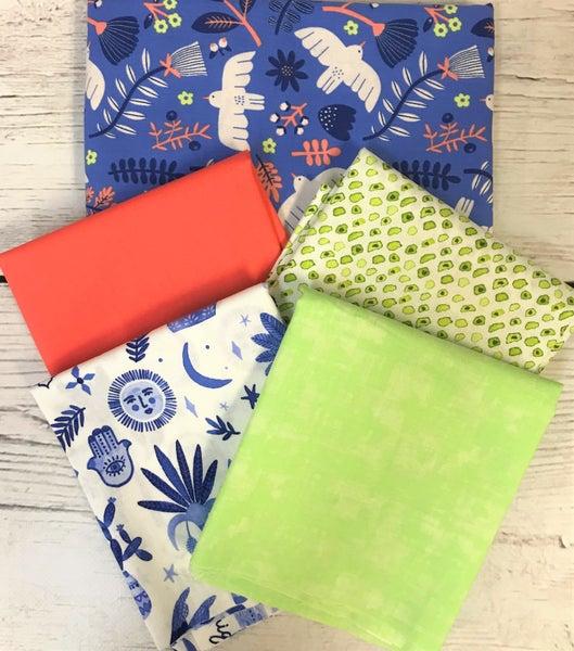 BYOK - Marbella Purple kit (2 1/2 yards fabric)