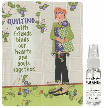 Lens Cleaner Kit Quilt with Friends