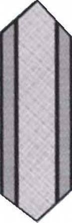 """Pattern:  Big Easy  (12.5 x 40"""")"""