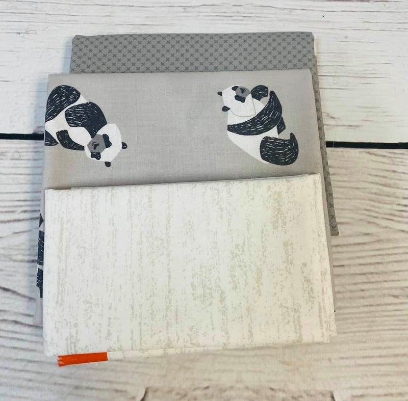 Kit:  June Tailor Lunchbox Panda(Need Batting/Zipper Kit)