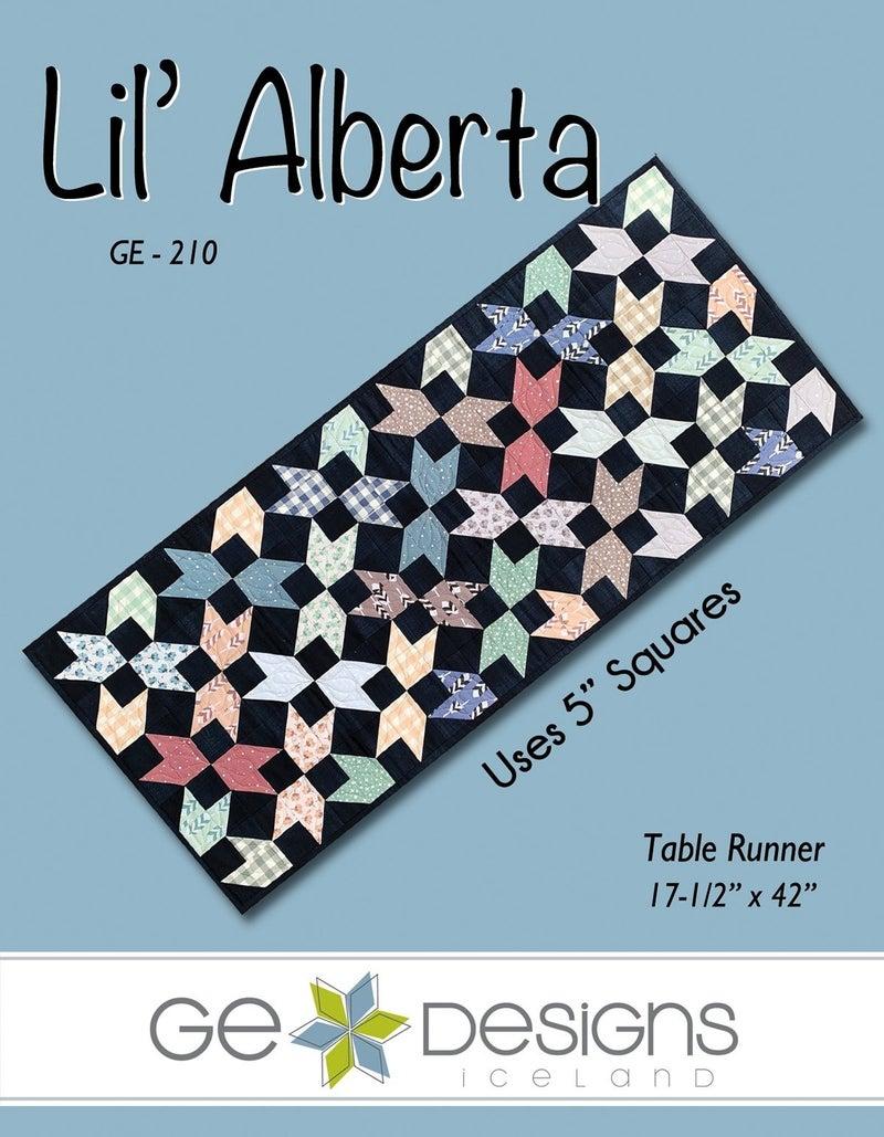 "Pattern: Lil Alberta Table Runner 17.5"" x 42"""